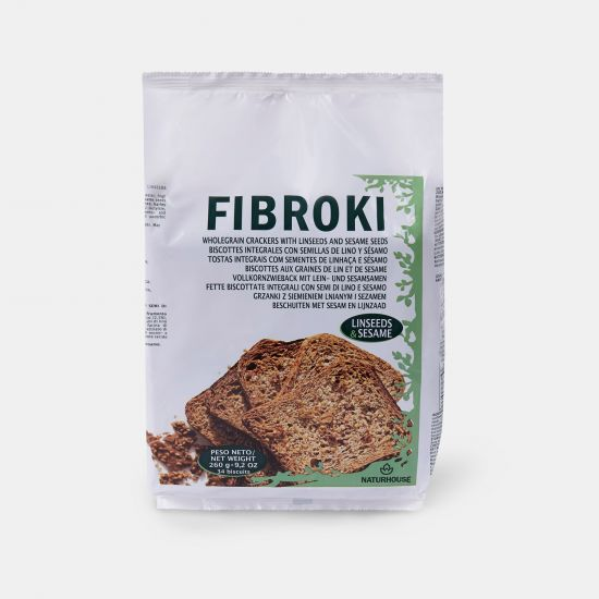 Fibroki Linseed and sesame cripbreads