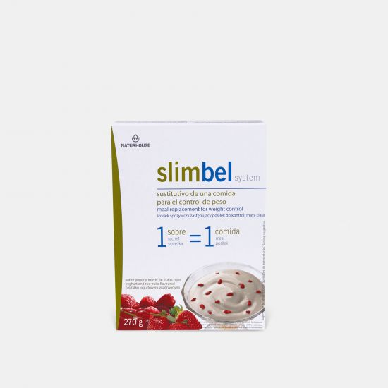 Slimbel Yogurt and Red berry Custard